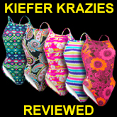 Kiefer Krazies Training Swimwear Review