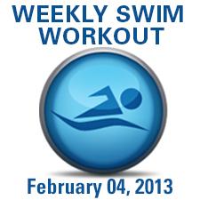 Descending Sets Swim Workout