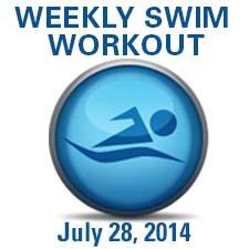 Swim Workout - Terrific 200's