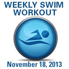 Holiday Hustle Swim Workout