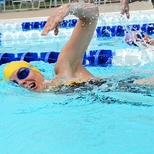 Kiefer Weekly Swim Workout: Boredom Breaker