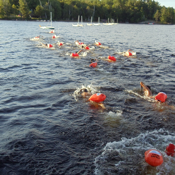 Kiefer SaferSwimmer Buoy Open Water Swimming Tips
