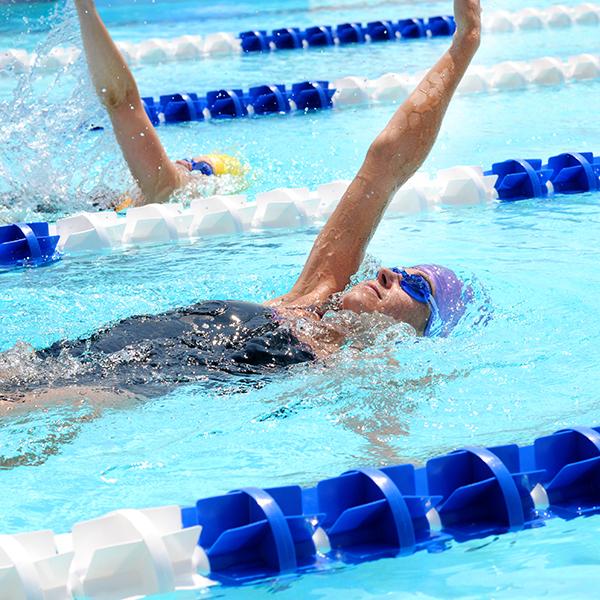Kiefer Swim Workout Swimming
