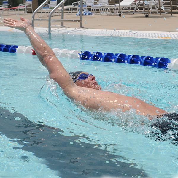Kiefer Swim Workout Backstroke Specialty Series