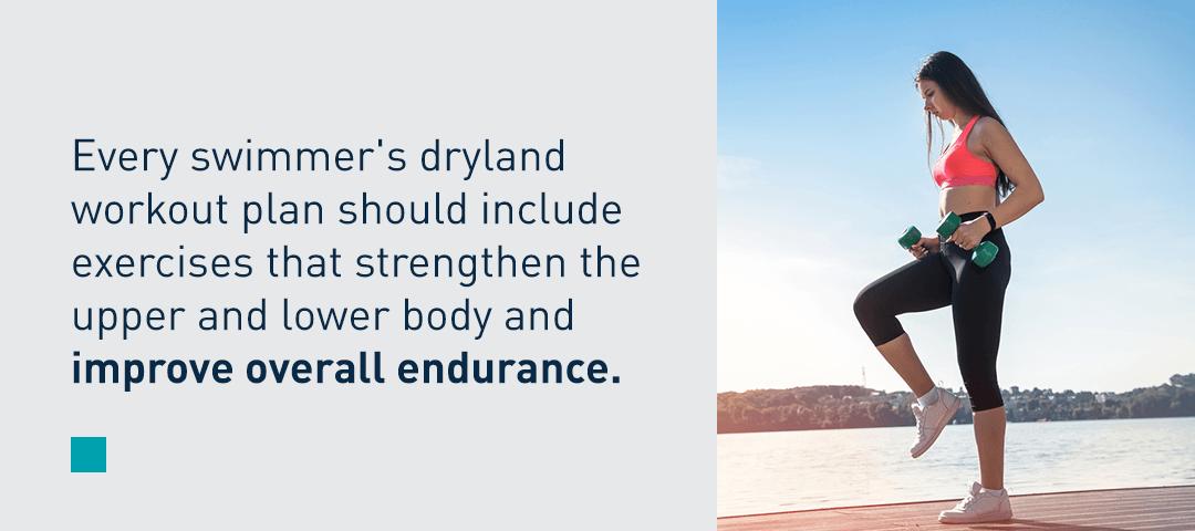 Swimmer's Dryland Workout Plan