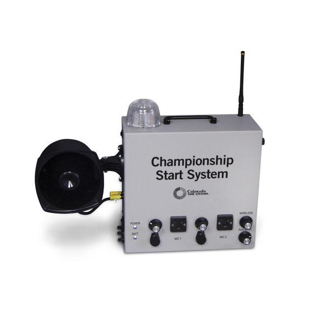 Colorado Time Championship Start System