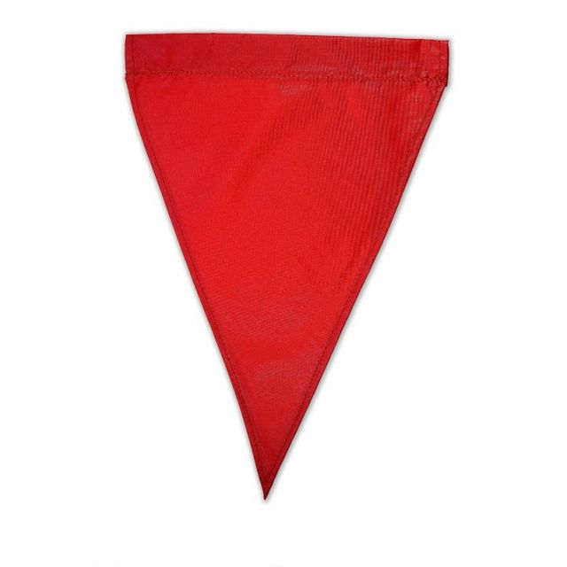 "Solid Nylon Flags - 11 x 14.5"""