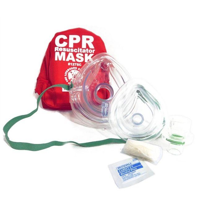 Adult/Infant Soft Case Pocket Mask Kit