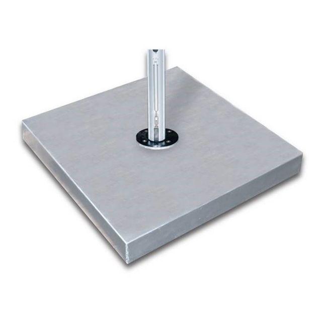 "44"" Square Galvanized Steel Base"
