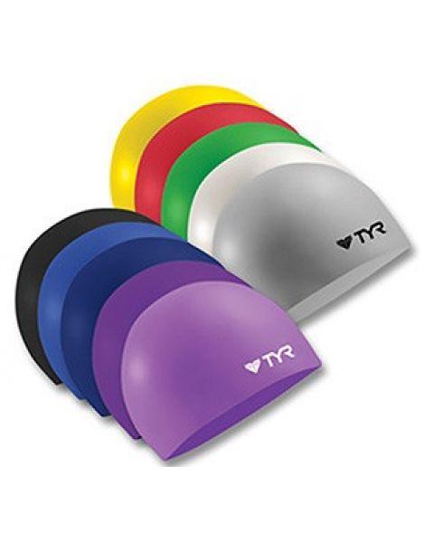 TYR Solid Latex Swim Cap