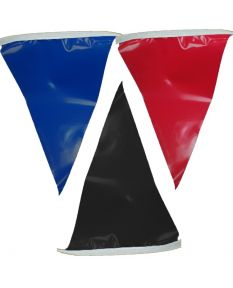 100 ft. Polyethylene Flags-Multi
