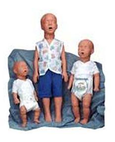 Simulaids Kim Kevin or Kyle Pediatric CPR Training Manikins