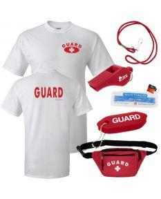 Guard Tee with Lifeguard Basics Kit