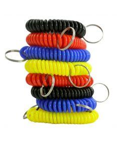 Wrist Lanyard Coils