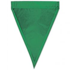 "Individual Nylon Backstroke Flags (12"" x 18""-Green"