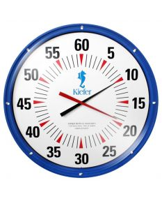 "Kiefer 36"" Battery Wall Mount Pace Clock"