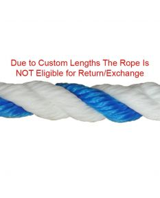 "1/2"" Polyethylene Rope"