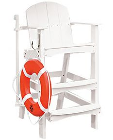 """Kiefer 40"""" Forever Lifeguard Plastic Chair"""