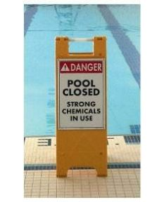 Aquatic Floor Stands - Yellow