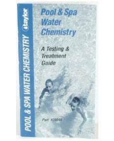 Pool Spa Water Chemistry Booklet