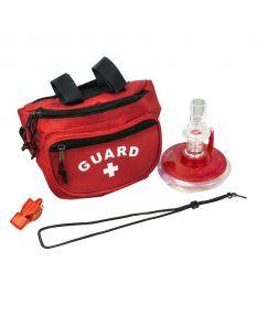 Lifeguard Red Hip Pack/Seal Rite Combo Kit