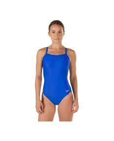 Speedo Solid Flyback Swimsuit