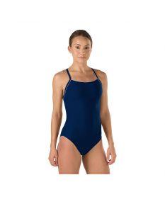 Speedo Solid Endurance + Thin Strap Swimsuit