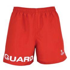 Kiefer Guard Essentials Unisex Deck Short-Red-XSmall