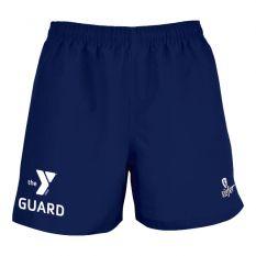 Kiefer YMCA Guard Essentials Unisex Deck Short-Navy-XLarge