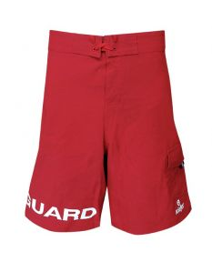 Kiefer 4-Way Stretch Male Lifeguard Board Short
