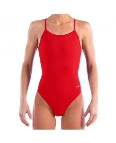 Dolfin Team Solid V2 Back - Color - Red,Size - 22