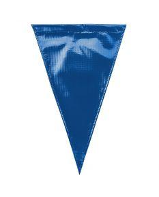 Solid Vinyl Flags - Color - Royal