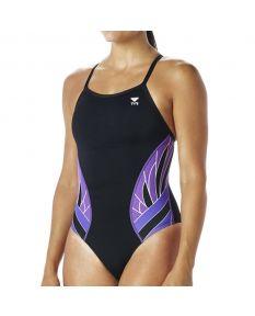 TYR Phoenix Splice Diamondfit-Black/Purple-22