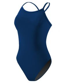 RISE Solid Poly H-Back - Color - Navy,Size - 22