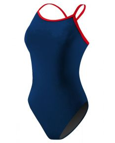 RISE Poly Color Trim H-Back - Color - Navy/Red,Size - 28