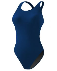 RISE Solid Poly Scoop Back -Navy-34
