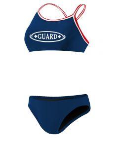 Rise Guard Poly Tri Color Bikini