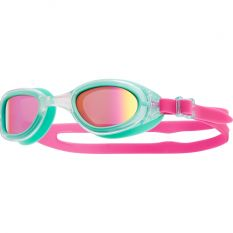 TYR Women's Special OPS 2.0 Polarized Goggles-Pink/Mint