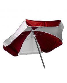 Lifeguard Umbrella - Color - Red/White