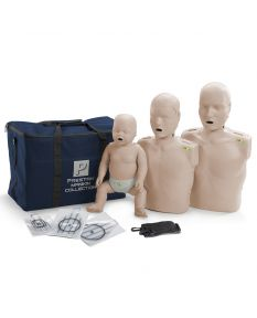 Prestan Professional Collection-(1 child/1 infant/1 adult with CPR & 10 face shields)