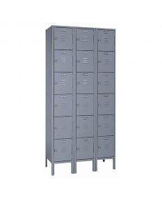 6-Tier Steel Lockers